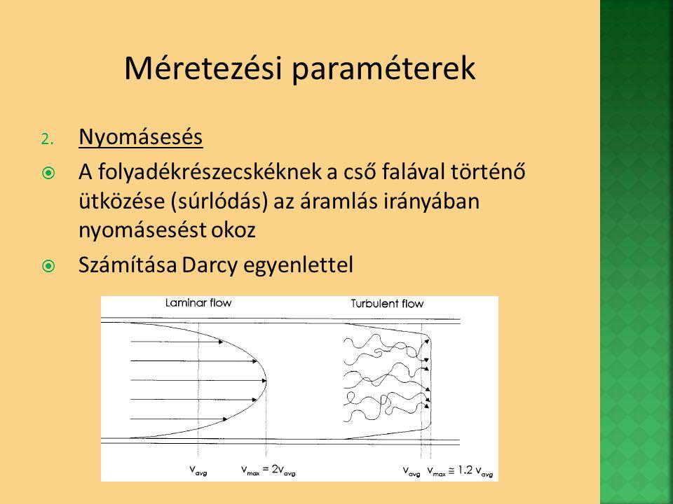 Méretezési paraméterek