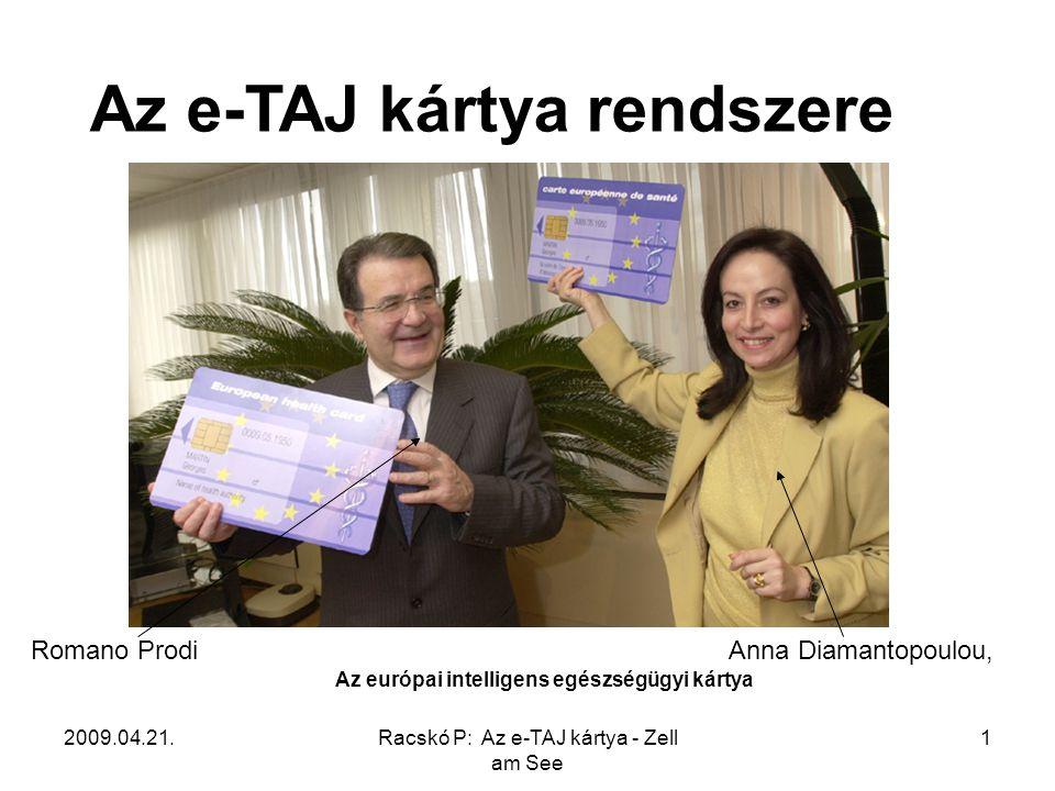 Az európai intelligens egészségügyi kártya