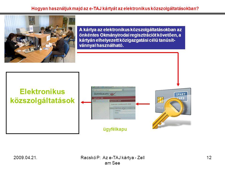 Elektronikus közszolgáltatások