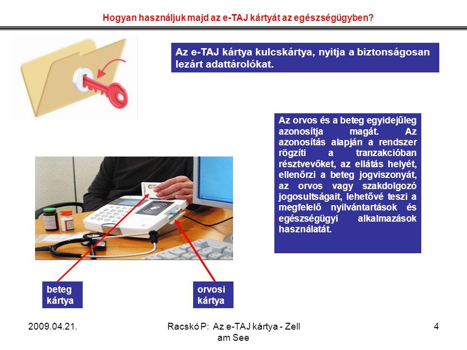 Hogyan használjuk majd az e-TAJ kártyát az egészségügyben