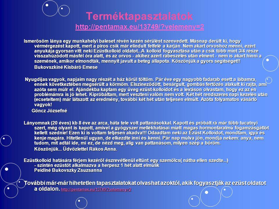 Terméktapasztalatok http://pentamax.eu/13749/ velemeny=2
