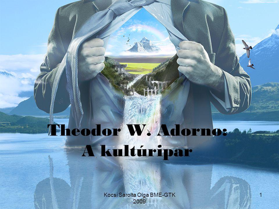 Theodor W. Adorno: A kultúripar