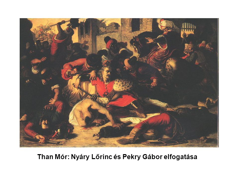 Than Mór: Nyáry Lőrinc és Pekry Gábor elfogatása