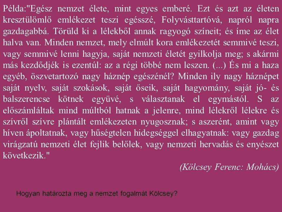 (Kölcsey Ferenc: Mohács)