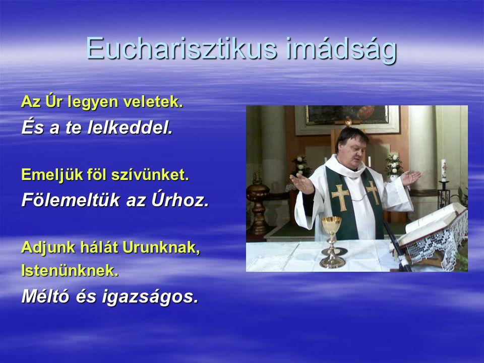 Eucharisztikus imádság