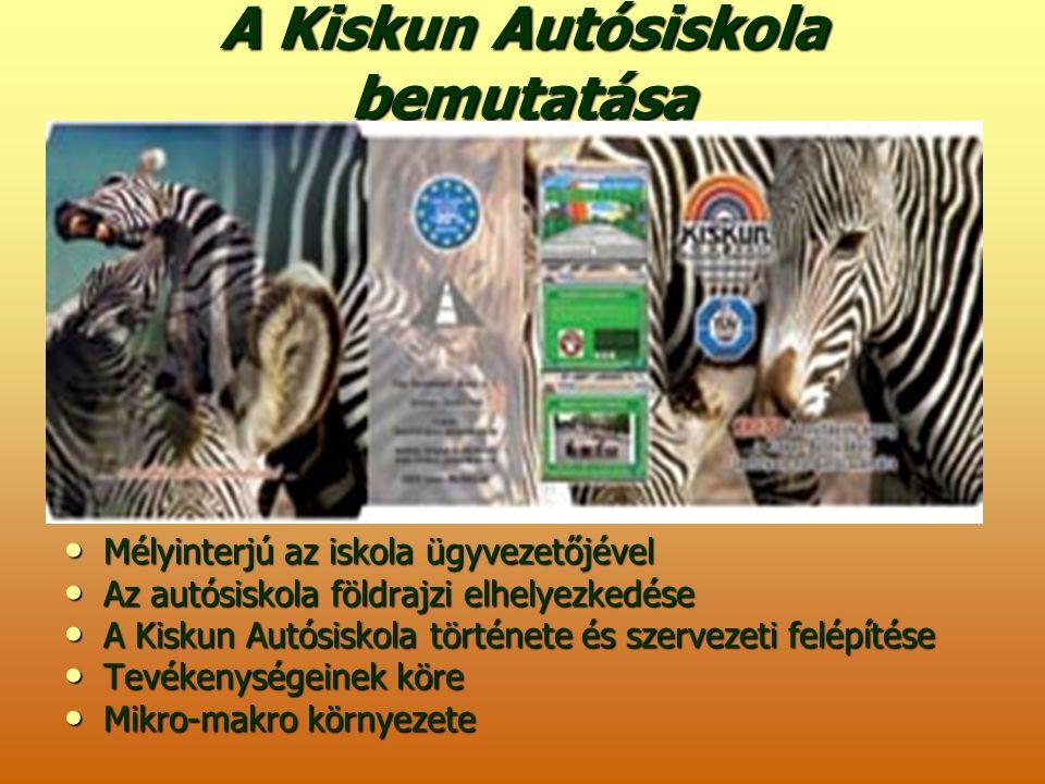 A Kiskun Autósiskola bemutatása