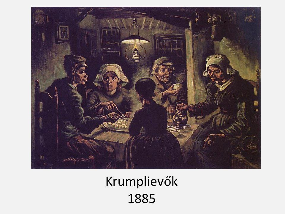 Krumplievők 1885