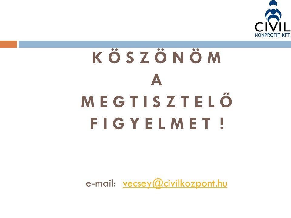 e-mail: vecsey@civilkozpont.hu