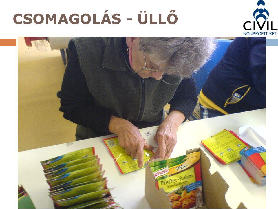 CSOMAGOLÁS - ÜLLŐ