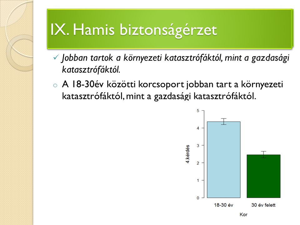 IV. Környezetvédelem megvalósulása Magyarországon
