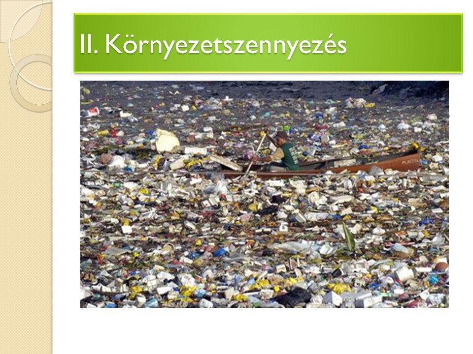 II. Környezetszennyezés