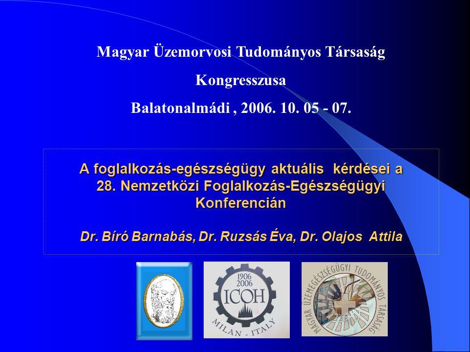 Magyar Üzemorvosi Tudományos Társaság