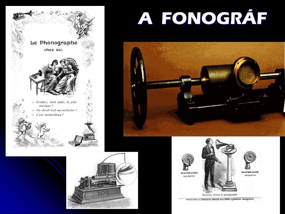 A FONOGRÁF