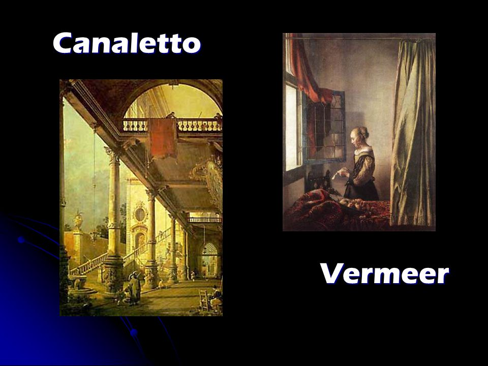 Canaletto Vermeer