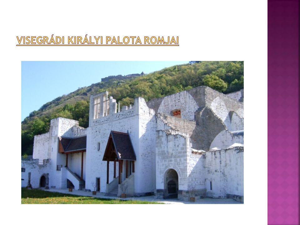 Visegrádi királyi palota romjai
