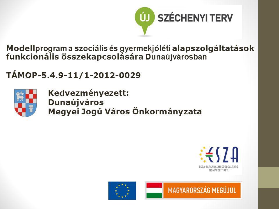 Modellprogram a szociális és gyermekjóléti alapszolgáltatások funkcionális összekapcsolására Dunaújvárosban