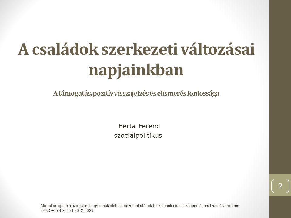 Berta Ferenc szociálpolitikus