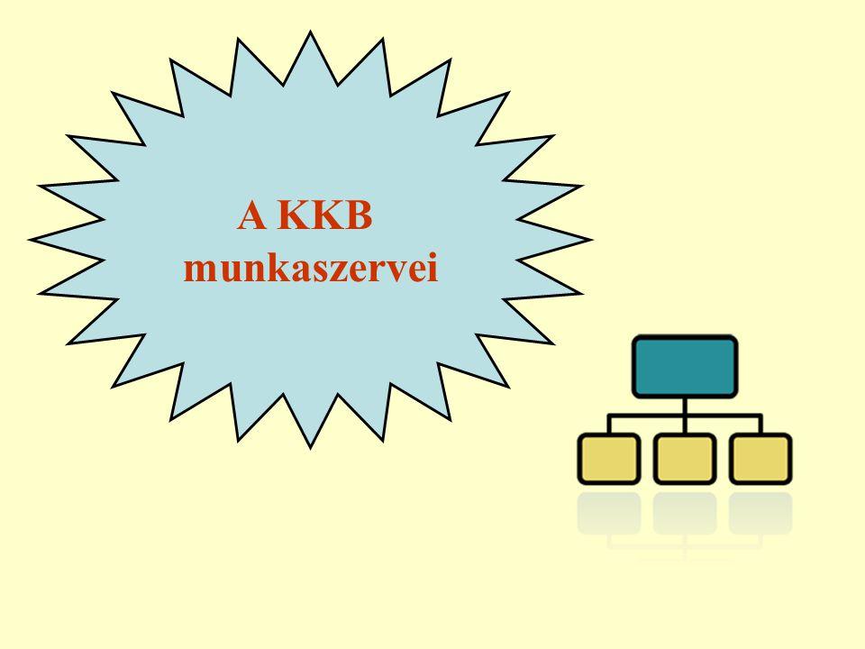 A KKB munkaszervei