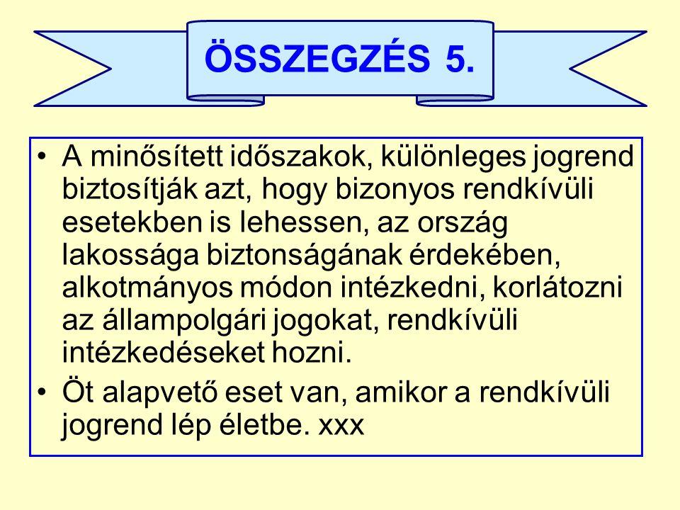 ÖSSZEGZÉS 5.
