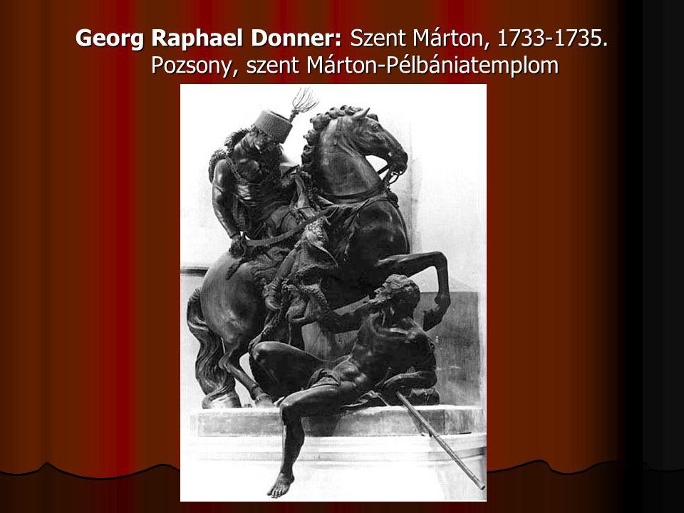 Georg Raphael Donner: Szent Márton, 1733-1735