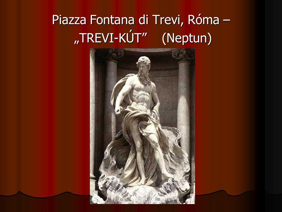 Piazza Fontana di Trevi, Róma –