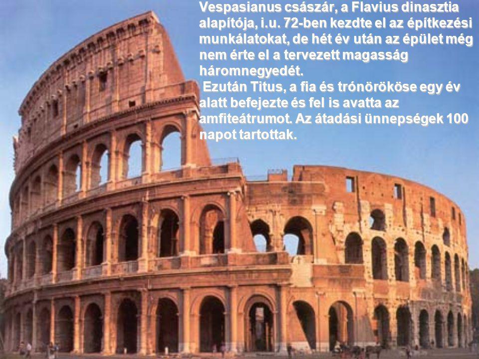 Vespasianus császár, a Flavius dinasztia alapítója, i. u
