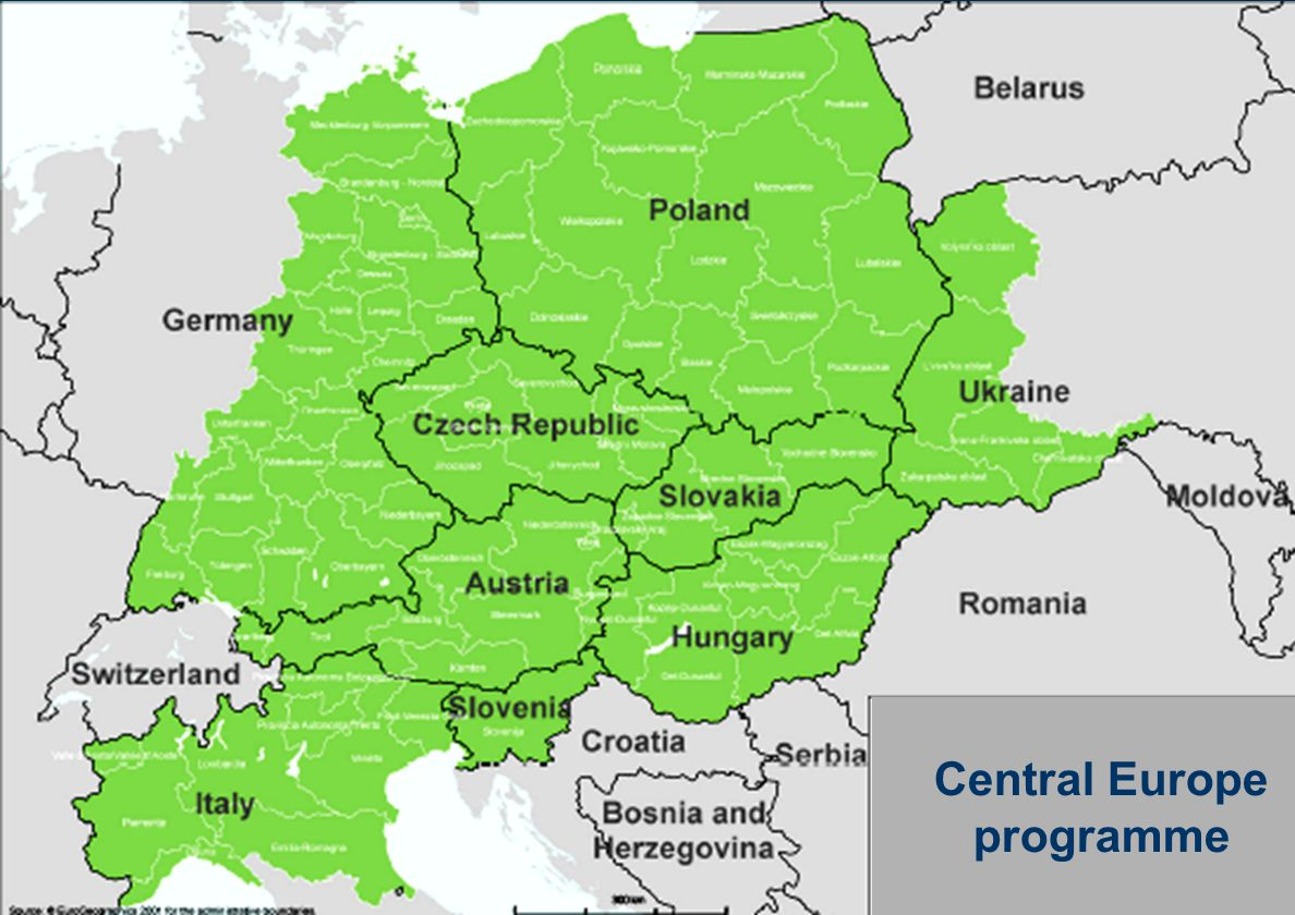 Central Europe programme