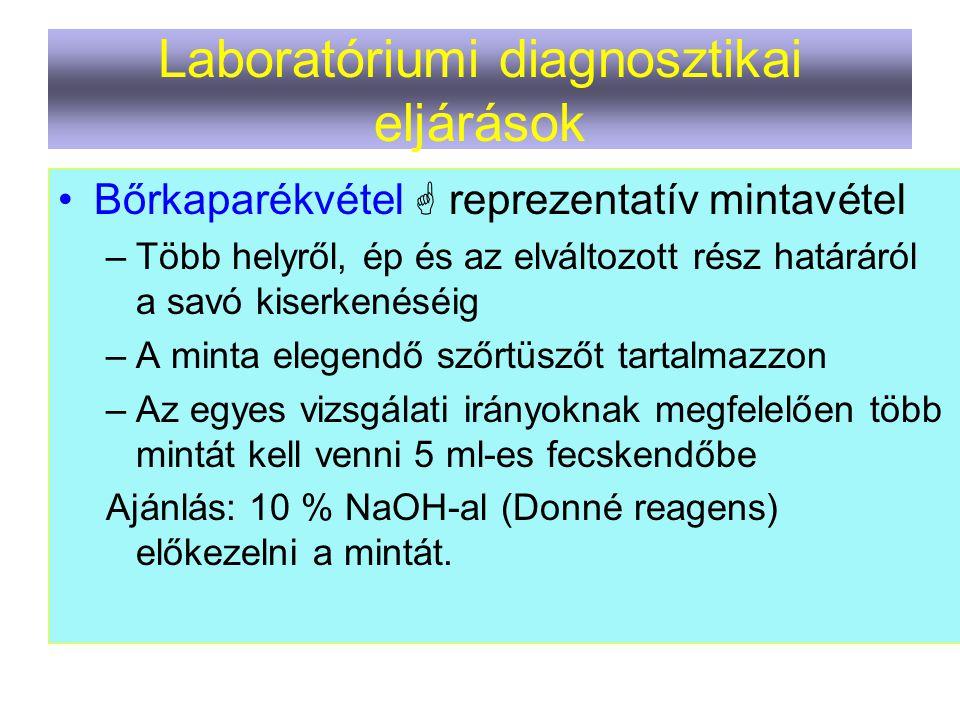 Laboratóriumi diagnosztikai eljárások