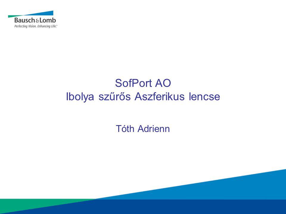 SofPort AO Ibolya szűrős Aszferikus lencse