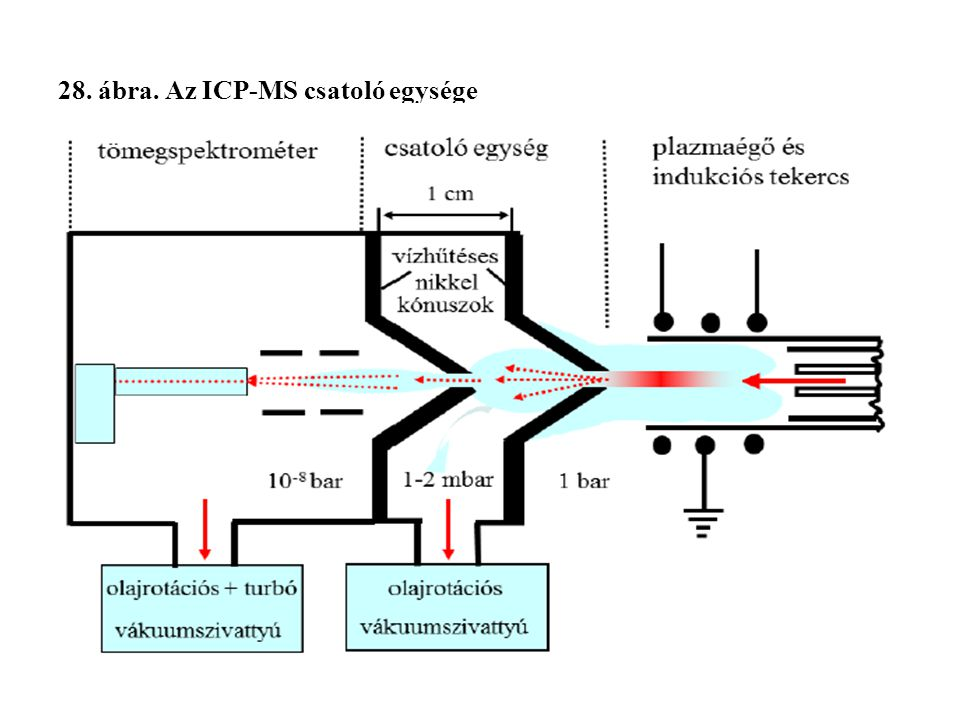 28. ábra. Az ICP-MS csatoló egysége