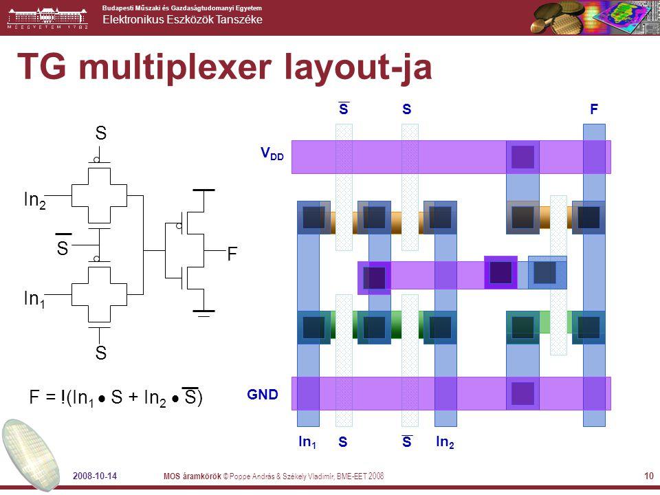 TG multiplexer layout-ja