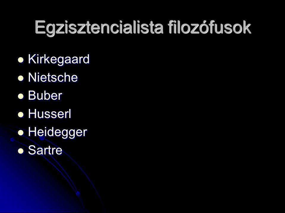 Egzisztencialista filozófusok