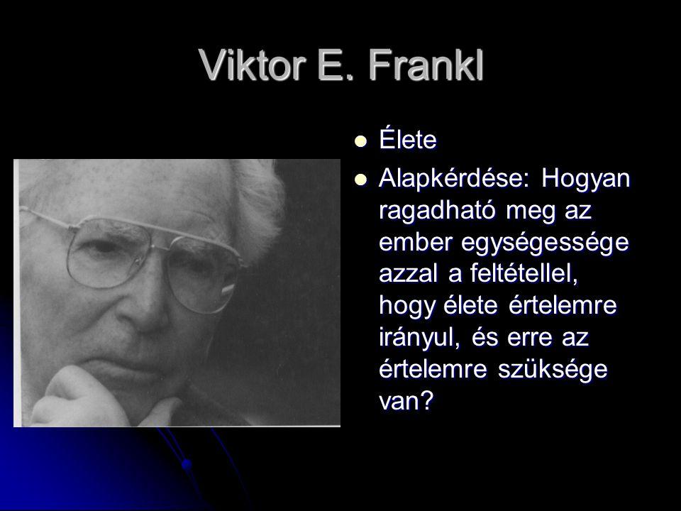 Viktor E. Frankl Élete.