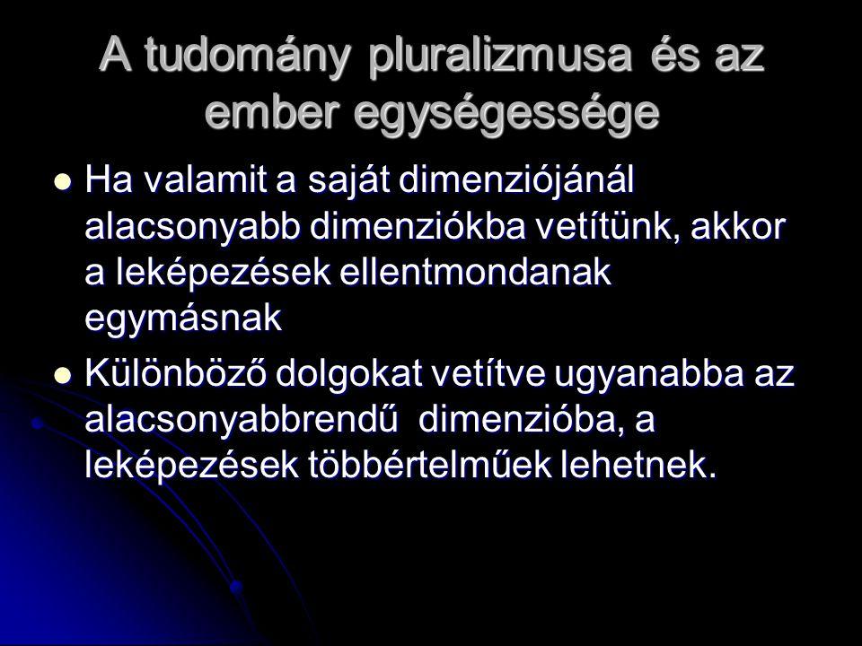 A tudomány pluralizmusa és az ember egységessége