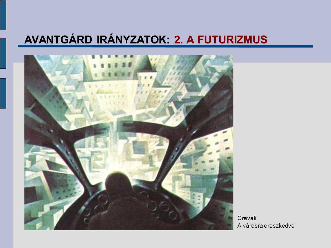 AVANTGÁRD IRÁNYZATOK: 2. A FUTURIZMUS