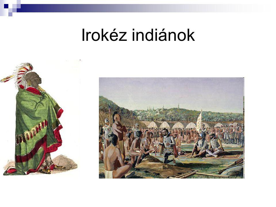Irokéz indiánok
