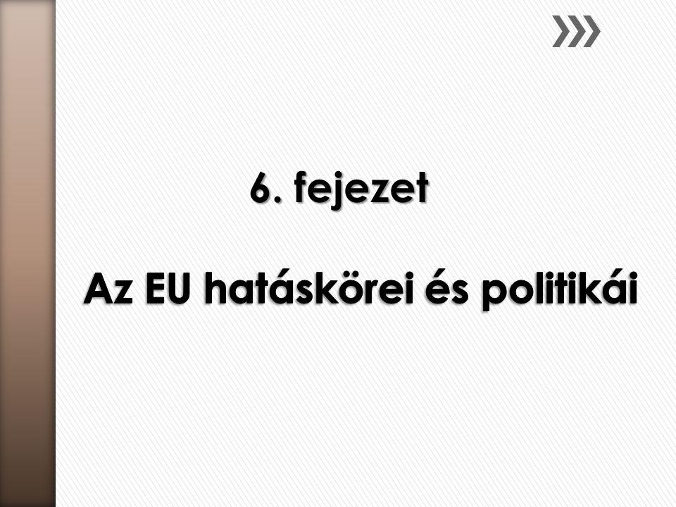 Az EU hatáskörei és politikái