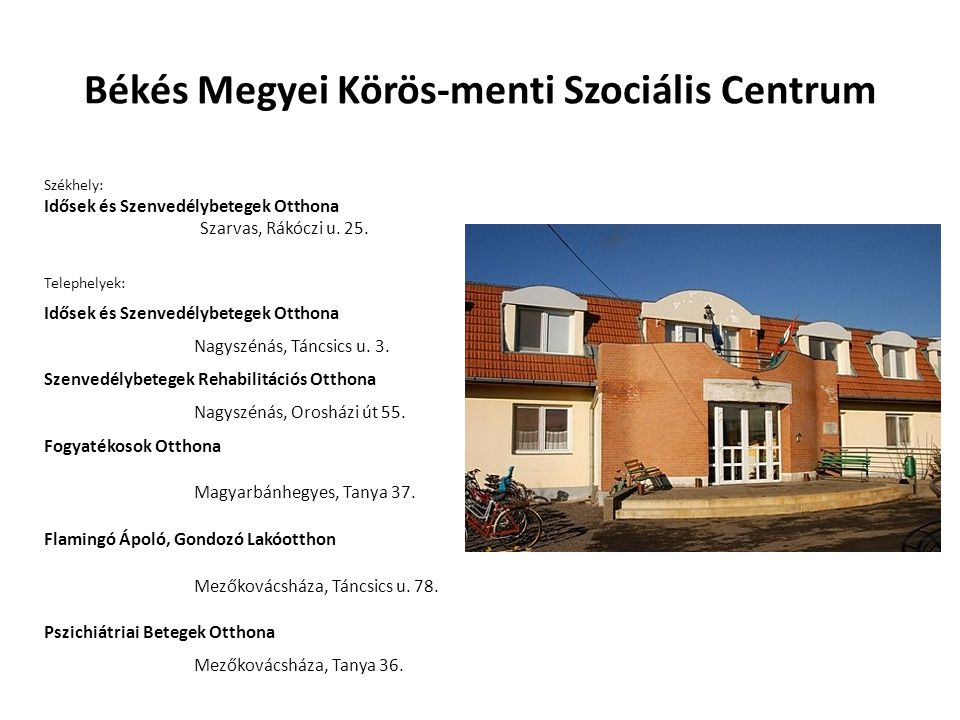 Békés Megyei Körös-menti Szociális Centrum