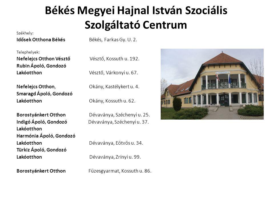 Békés Megyei Hajnal István Szociális Szolgáltató Centrum