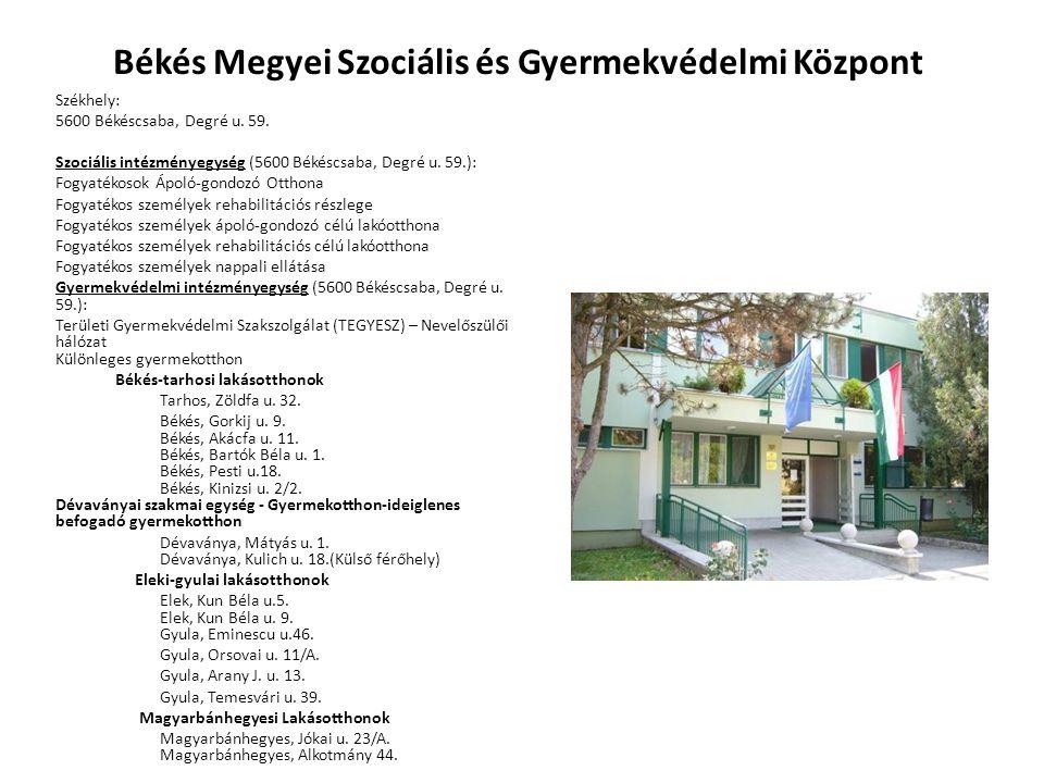Békés Megyei Szociális és Gyermekvédelmi Központ