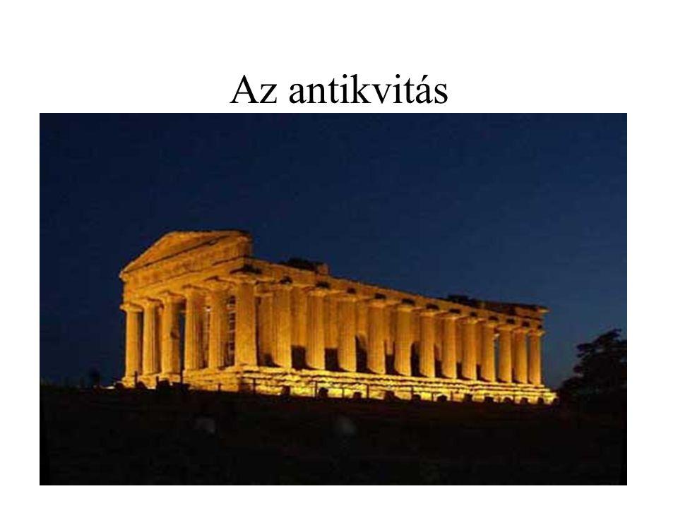 Az antikvitás akropolisz