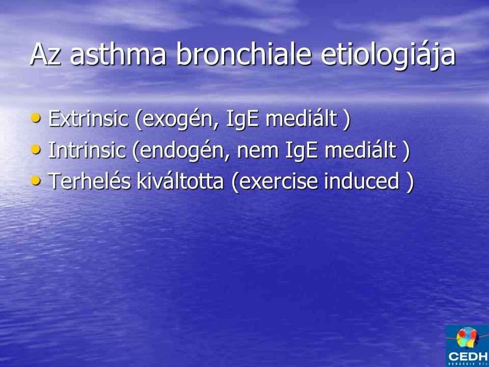 Az asthma bronchiale etiologiája