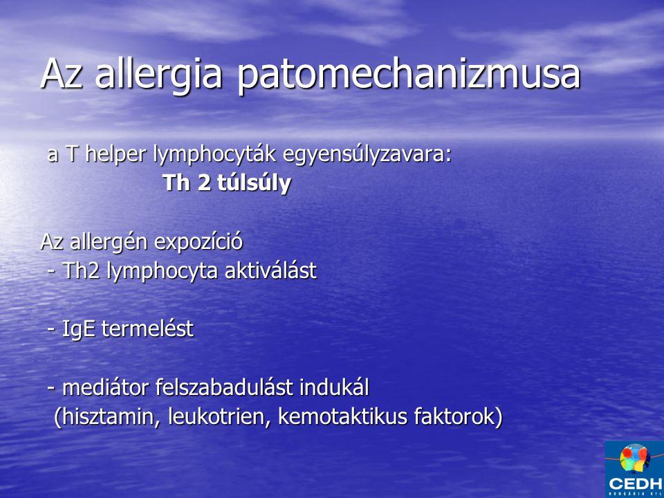 Az allergia patomechanizmusa