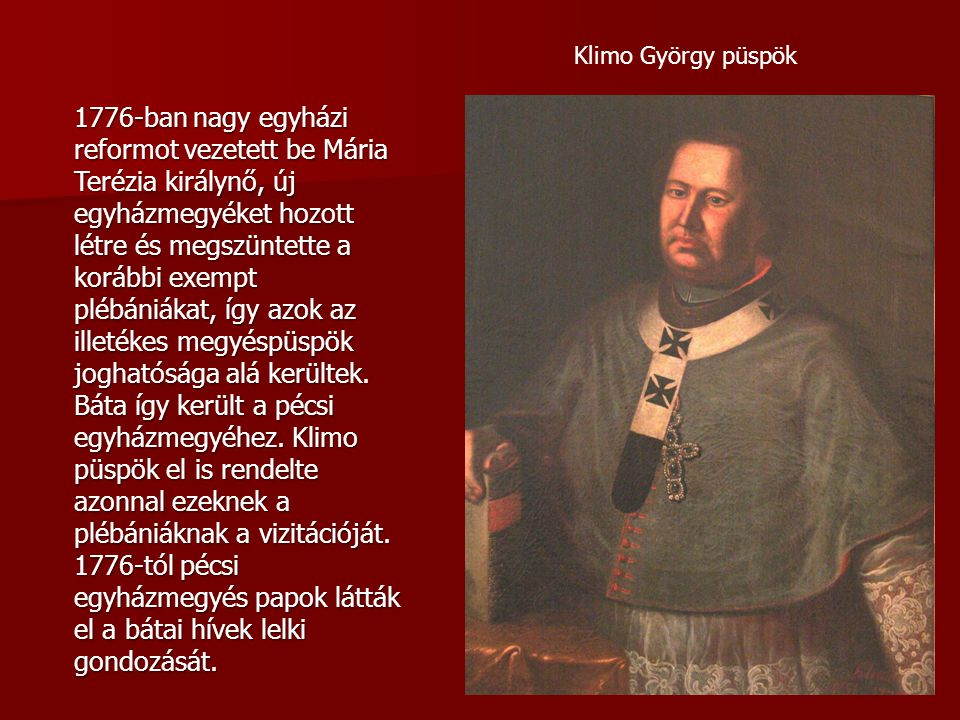 Klimo György püspök
