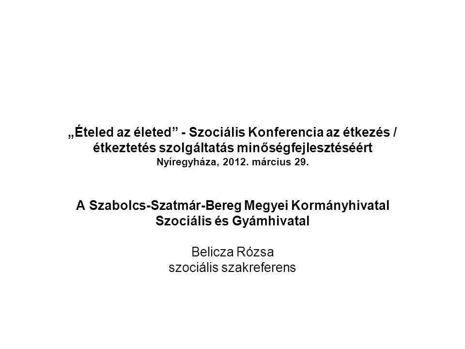 A Szabolcs-Szatmár-Bereg Megyei Kormányhivatal