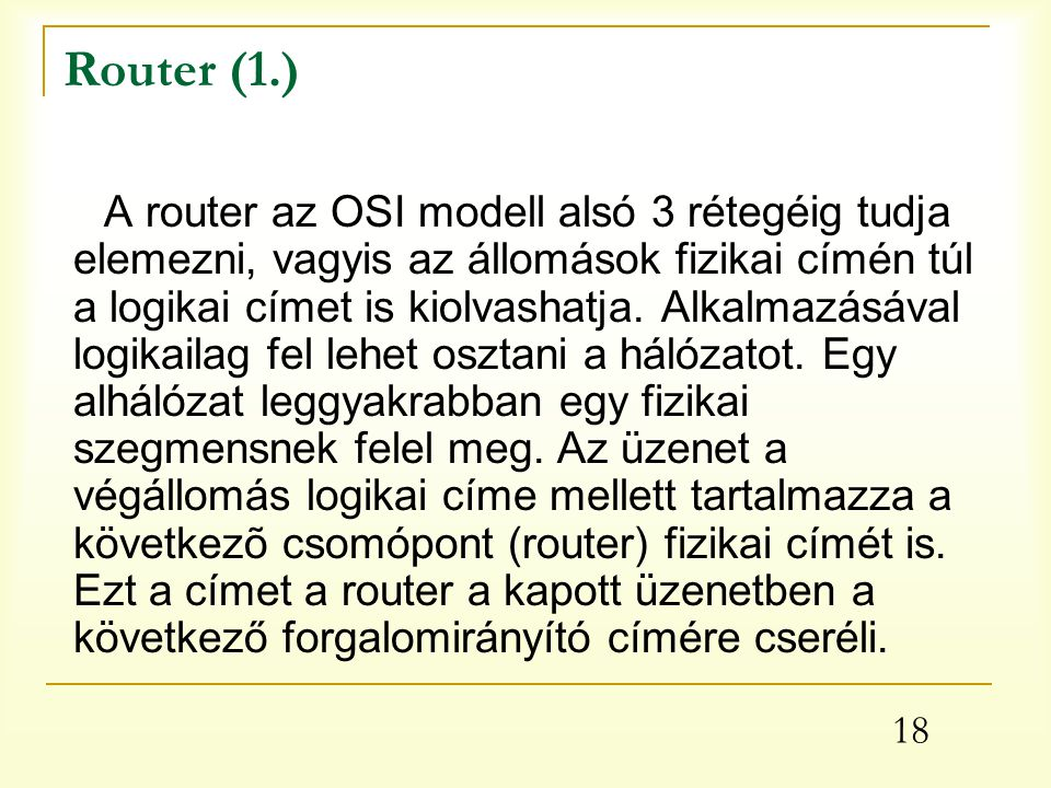 Router (1.)