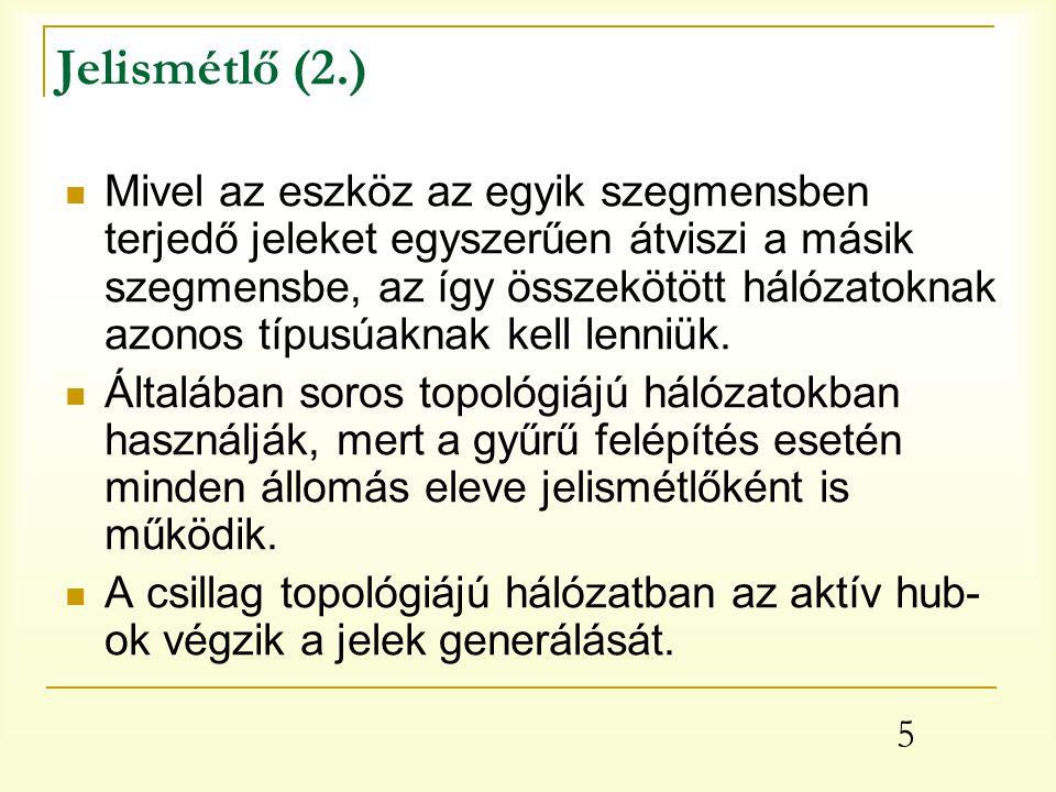 Jelismétlő (2.)
