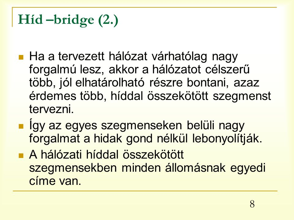 Híd –bridge (2.)