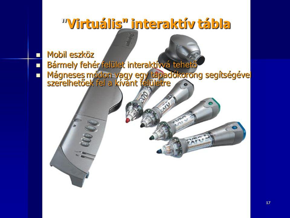 Virtuális interaktív tábla