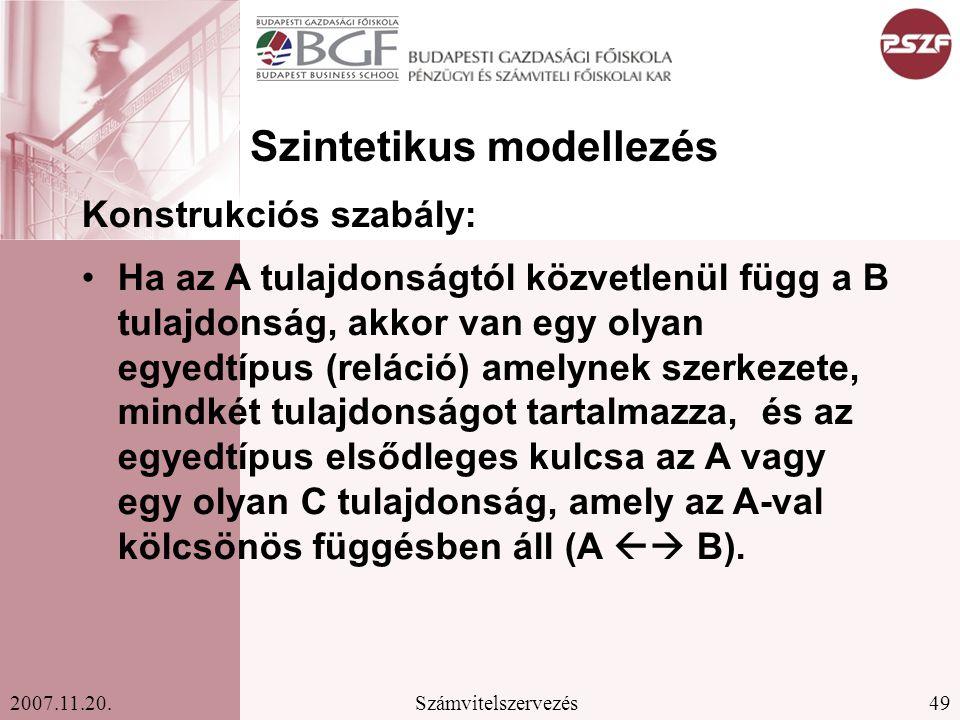 Szintetikus modellezés